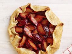 Open-Faced Plum Tart from #FNMag