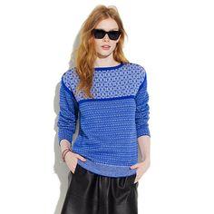 Le Mont St. Michel® Fair Isle Sweater