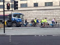 """Cyclists in the City. The Times: """"The bike is the future and the task for British cities now be must be to adapt to the bike."""" Please fill in the survey at the bottom of this post and add your voice to the all-party parliamentary cycling review."""