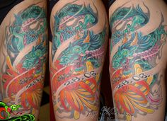 Jay Marceau - Tattoo Artist from Quebec City — Work
