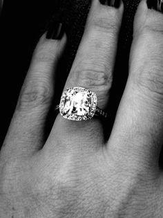 Wedding Ring Idea. Perfection.