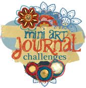 a year of weekly challenges journal idea, challenges, art blog, art journals, challeng prompt, art journal prompts, art journal challenge, mini, art challeng