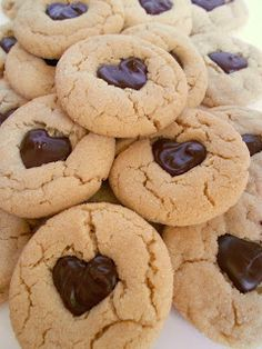 *Rook No. 17: recipes, crafts & whimsies for spreading joy*: Peanut Butter (hearts) Chocolate Cookies And My New Favorite Coffee#MyBaristaMoment