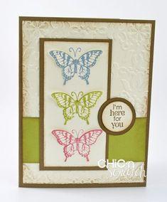 Papillon Potpourri Card