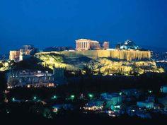 Acropolis Night, Athens