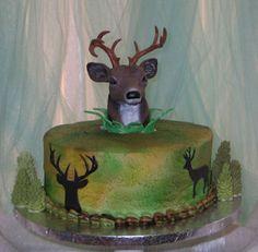 groom's deer cake