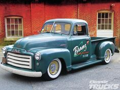 54 Chevy Truck -
