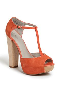 Must have summer's best combo T-Strap in Coral Hue!