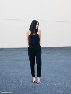 Ann of Andy Heart is all about a jumpsuit for date night