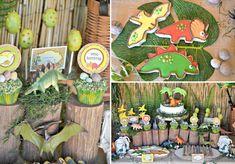 Dinosaur Adventure Paleontologist Themed Birthday Party via Kara's Party Ideas www.KarasPartyIdeas.com