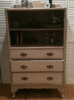 Upcycled chest with DecoArt Chalk Paint