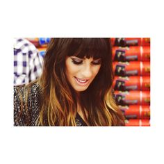 Lea Michele Comic Con 2012 ❤ liked on Polyvore