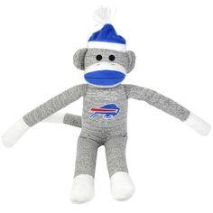 Buffalo Bills Sock Monkey