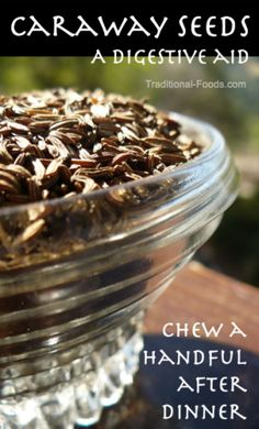 Caraway Seed -- A Digestive Aid @ Traditional-Foods.com