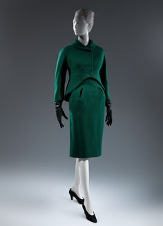 Charles James (American, born Great Britain, 1906–1978). Suit, 1961-62. The Metropolitan Museum of Art, New York. Gift of Lee Krasner Pollock, 1975 (1975.52.5a, b) #CharlesJames