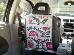 Hanging Car Organizer- SO MANY COLORS TO CHOOSE FROM!