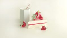 Amazing paper food by Charlotte Smith