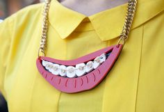 SMILE AND MAKE ME HAPPY!  Collar de Patricia Nicolás para YUBE