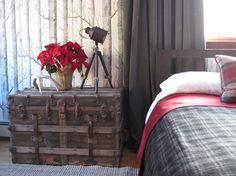 Contemporary camp bedroom