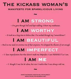 Be a kickass woman!