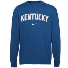 Nike Kentucky Wildcats Arch Logo Youth Long Sleeve T-Shirt - Royal Blue