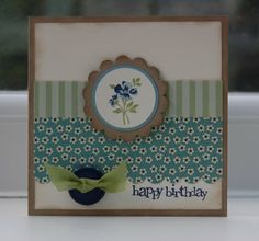 Julie's Japes - A Top Independent Stampin' Up! Demonstrator in the UK: Baby Blossoms