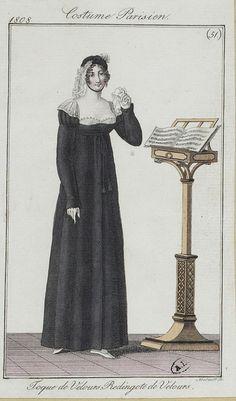 Costume parisien, 1808