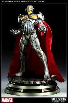 FIGURINE Marvel statuette 1/4 Great Ultron #ActionFigure from Sideshow collectibles