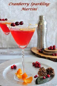 Cranberry Sparkling Martini