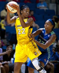 """The first player to ever be signed to the WNBA, Sheryl Swoopes remains one of the league's shining stars. Regularly referred to as the """"female Michael Jordan,"""" basketball superstar Swoopes has won three Olympic gold medals, an NCAA championship, three MVP awards, and four WNBA titles during her time on the court."""