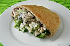 This is Clean Eating Chicken Salad is great for lunch or any meal!