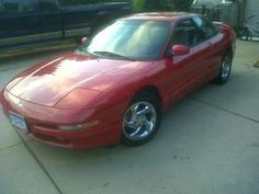 Wow, this was my very VERY first* car! Ford Probe - Manual with a cell phone connection was in MINT condition ....before the Jeep Wrangler & the Fit