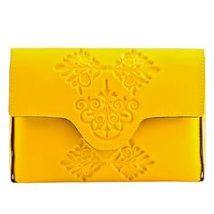 MeDusa Mini Clutch Bag - Yellow | MeDusa
