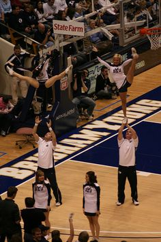 "BYU cheerleaders by llenroc9, via Flickr  - MormonFavorites.com  ""I cannot believe how many LDS resources I found... It's about time someone thought of this!""   - MormonFavorites.com"