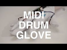 "MIDI Drum Glove covers Iggy Azalea's ""Fancy"" drum glove, glove cover"