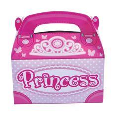 Princess Treat Box  (Bulk Pack of 12 Boxes) at theBIGzoo.com