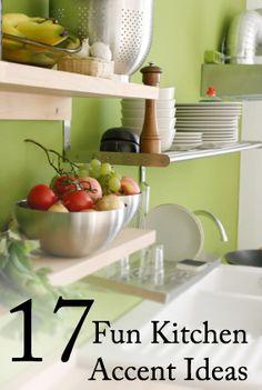 17 Fun Kitchen Accent Ideas
