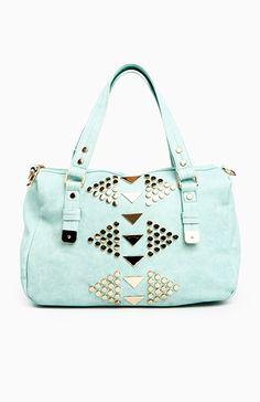 Triangle Stud Bag