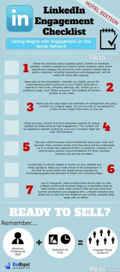 #LinkedIn #Engagement #Infographic #infographics #socbiz