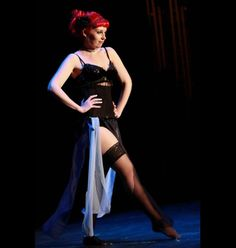 Burlesque Performanc