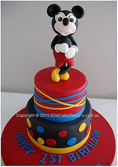 Mickey Mouse Cake Asda