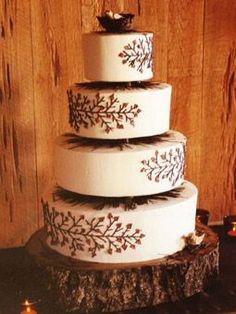 woodland cake #woodland