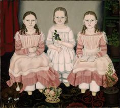 Susan Catherine Moore Waters The Lincoln Children 1845 Museum of Fine Arts, Boston