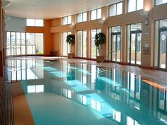 Every dream house needs an indoor pool