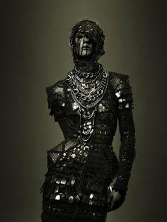 #fashion #cyberpunk #medieval
