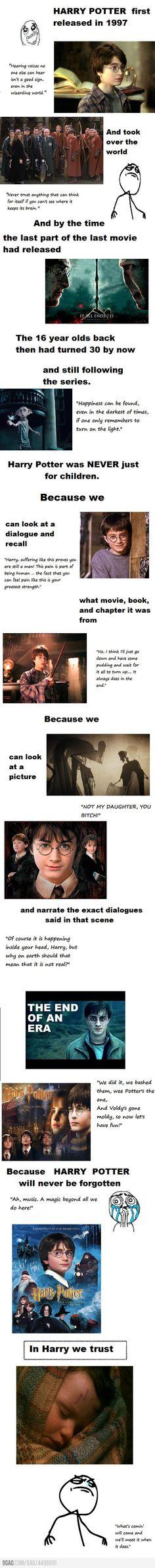 In Harry We Trust