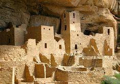 Anasazi Cliff Dwellings - Arizona