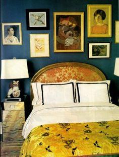 Kate Spade guest room..