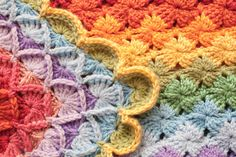 Bavarian Crochet Blanket (Wool Eater Stitch) | Mad Mad me