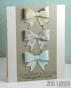 Cute idea to use CTMH bows